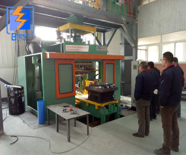 Automatic cold box core shooting machinery