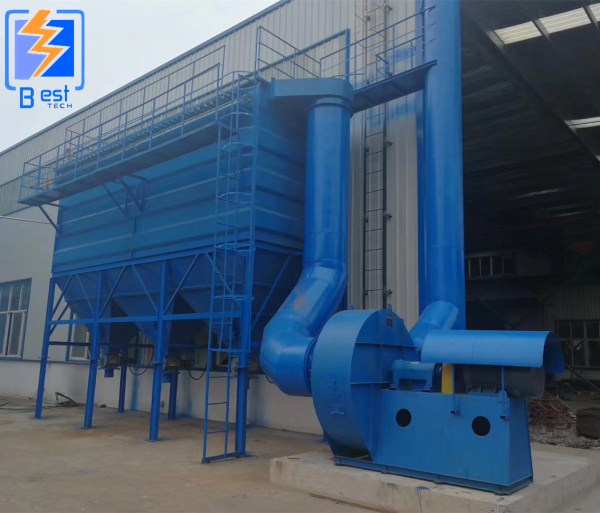 Industry bag type dust collector